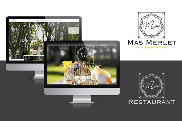 site Internet Le M - Mas Merlet