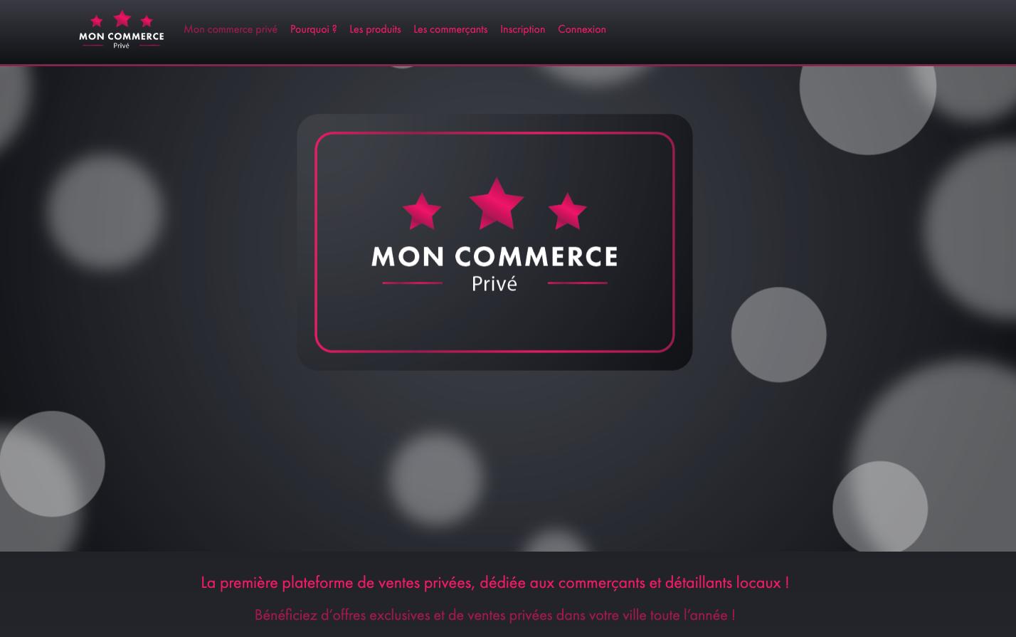 click and collect mon commerce privé